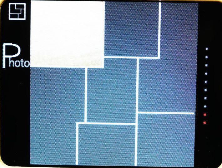 拼貼模式內可選擇多種不同版面設計。