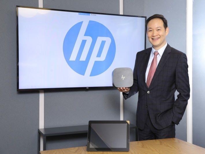 江錦泉指出,HP 會議方案以簡單安裝及操作提升用戶的體驗,也透過精簡的設計迎合未來簡潔辦公室的設計及需求。