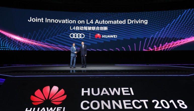 華為夥拍 Audi 走入自動駕駛市場