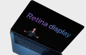 MacBook Air 十年 終於等到有 Retina Display