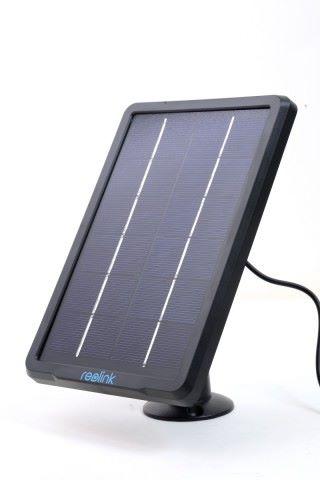 Reolink 太陽能充電板。