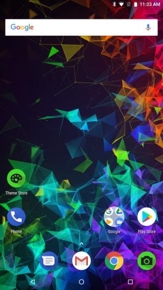 運行 Android 8.1 OREO,操作同原生介面分別不大。