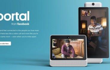 Facebook 發表視像通信裝置 Portal / Portal+