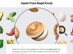 徇眾要求 Apple 幫麵包圈搽返奶油芝士