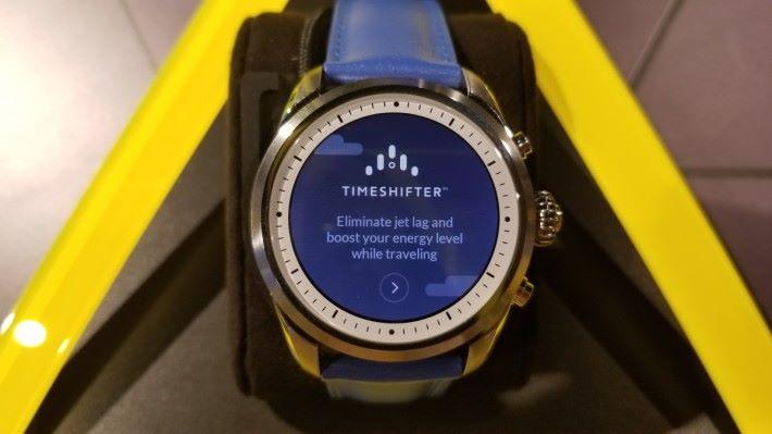 也有《Timeshifter》幫旅人減輕時差的問題。