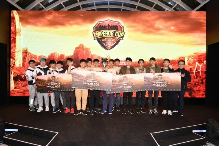 是次比賽由台灣隊伍取得冠亞軍,香港隊伍得季軍。