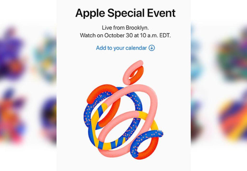 Apple 10 月 30 日 舉行第二輪產品發表會