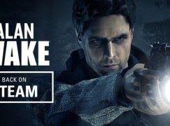 《 Alan Wake 》is BACK!Steam 版本即日回歸!