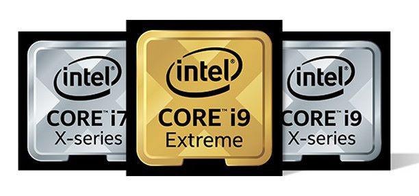Core-X 系列標誌,別與藍色的主流級 i9-9900K 混淆啊。