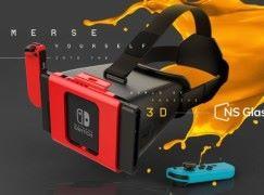 Switch 都玩到 3D?首款 Switch 相容 3D 眼鏡面世!