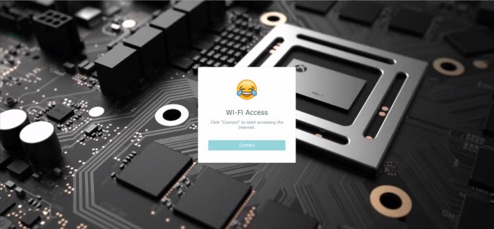 自行設計 Guest Portal 首頁。