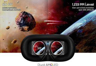 採用了 Anti-SDE AMOLED 顯示屏幕,令玩家體驗到的像素密度達 1,233ppi ,幾乎不會看到格線。