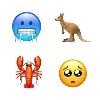 「凍到結冰」或者「傷心樣」說不定會成為大家日後常用的 Emoji。