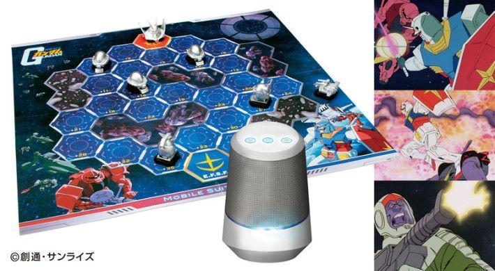 在傳統桌上遊戲裡注入智能喇叭語音指令元素的「 Party Joy AI 」