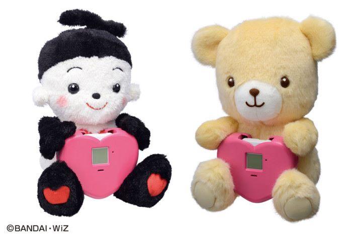 透過互聯網來與遠方親友聯繫的「 Online Partner 」娃娃及相配合的核心「 IoT Core Module 」