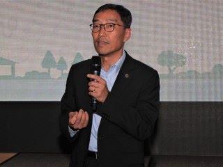 黃克強表示, 舉辦「第二屆 SciTech Challenge 創業比賽」,獲社聯和沙田醫院支持,帶參賽者實地參觀院舍,有助了解用戶的需要。