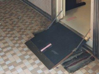 莫逆於室設計智能斜台 EasiRamp,在現行消防條例之下,方便輪椅人士出入。