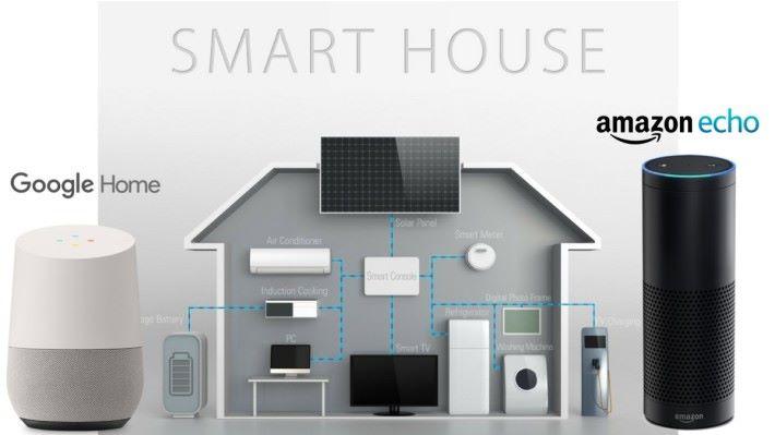 智能家居系統,會透過 wifi 將全屋的智能家電連網使用。