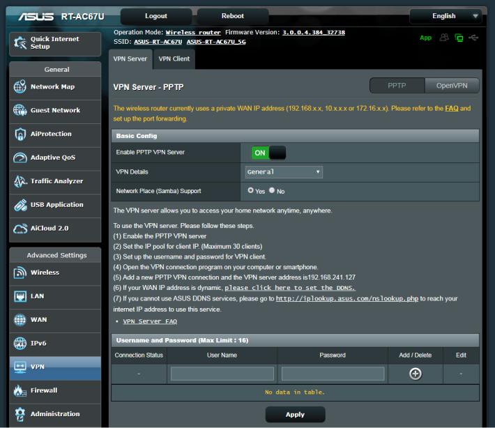 ASUS 有名的 PPTP 及 OpenVPN Server 亦得以保留,不太多 Mesh Wi-Fi 系統具備 VPN 的喔。