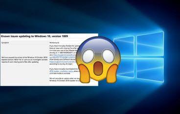 愈鬧愈大!Microsoft 煞停 Windows 10 秋季更新