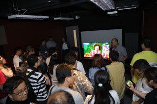 為了令參加者更清楚 XPERIA XZ3 OLED屏幕的特點,特設 BRAVIA 電視體驗設置,讓用戶可感受到 XPERIA XZ3 畫面質素媲美高階 OLED 電視的效果。