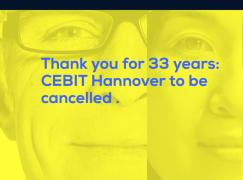 曾經是世界三大科技展  漢諾威 CeBIT 宣佈玩完
