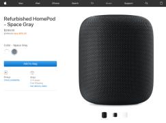 Apple 割價賣 HomePod