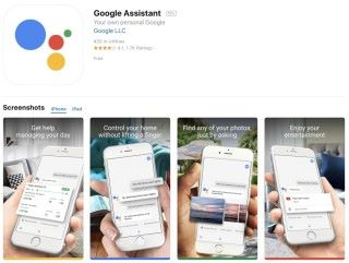 現時要安裝 Google Assistant ,要到美國或日本 App Store 。