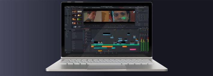 官方的影像後製軟件 DaVinci Resolve 15 支援 Blackmagic eGPU 系列產品,可以免費下載使用。