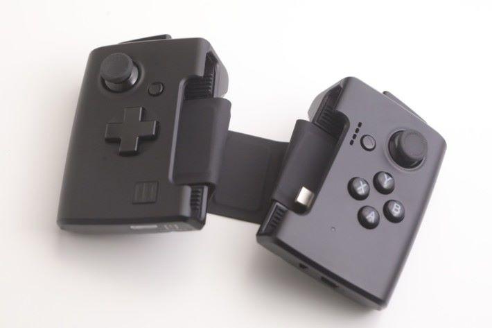 Gamevice 遊戲控制器。
