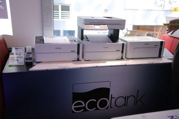 Epson 三款全新 EcoTank黑白打印機
