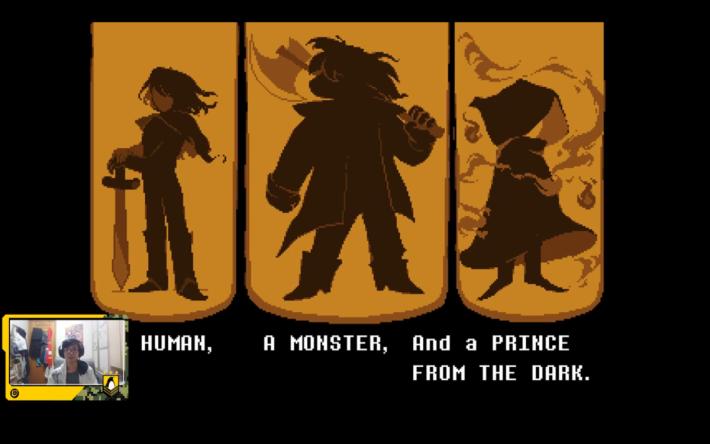 三名不同身分的主角就會成為英雄。