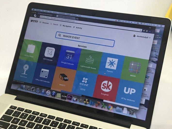 IFTTT 是一個網絡服務平台,其概念如其名是「 if this then that 」。