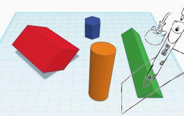 3D 筆學棱柱體積計算