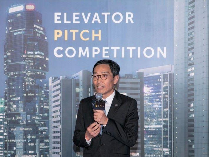黃克強表示,香港的創新科技生態獲特區政府和大灣區支持,吸引外國科技公司來港。