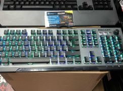【場報】半裸平鍵帽 Roccat 機械鍵盤大改革