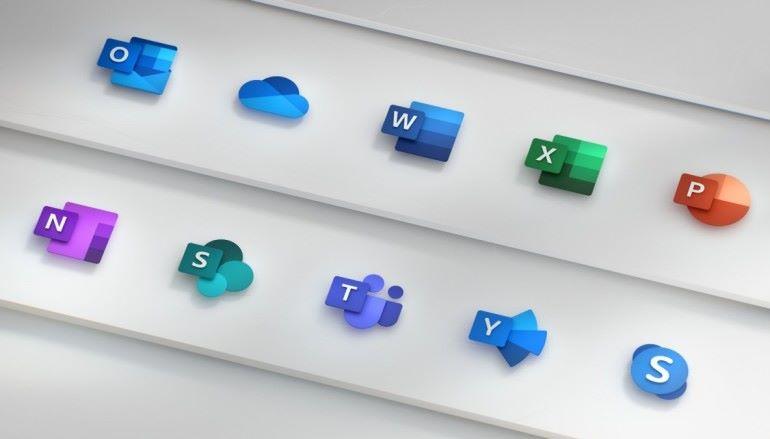 Microsoft Office 標誌換新裝