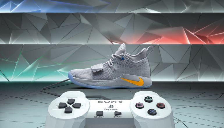 Game迷必敗!  Playstation x Nike PG2.5 特別版籃球鞋 !
