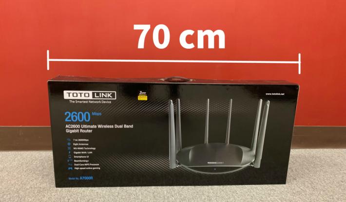 70cm 長的包裝盒!
