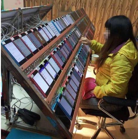 刷榜服務在中國很常見