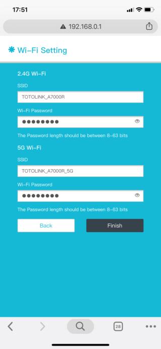 可用手機瀏覽器進行安裝,不消數分鐘便完成。