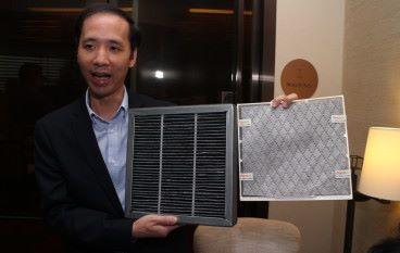 港產納米空氣過濾網 效能可比空氣清新機