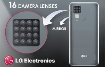 密集恐懼 LG 取得 16 鏡頭手機專利