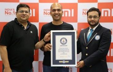500家零售店同日開幕 小米創下世界紀錄