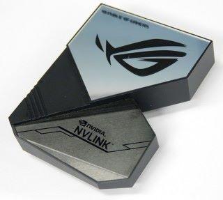 ASUS ROG-NVLINK-3 屬於ROG 信仰的產物。