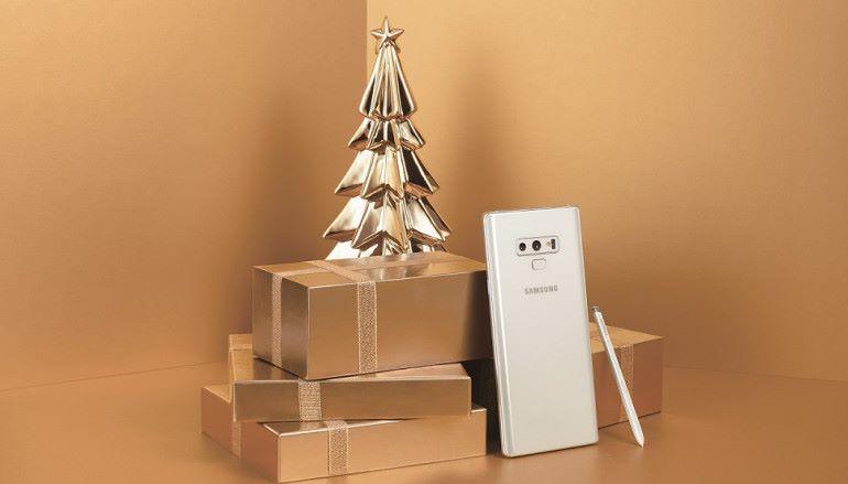 Samsung 加推 Galaxy Note9 白色版迎聖誕