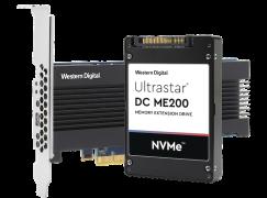 容量是 DRAM 8 倍! WD 發佈 Ultrastar DC ME200 內存固態硬碟