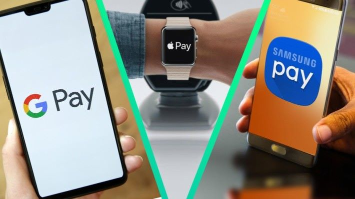 Apple Pay 和 Samsung Pay 的排名分別為第四及第五。