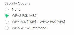 AX8 目前只有 WPA2,未知之後會否支援 WPA3,但另一款 AX12 新 Router 就已標明支援 WPA3 了。