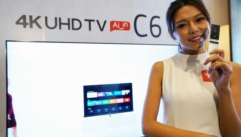 入門玩正宗Android TV 8.0 – TCL C6